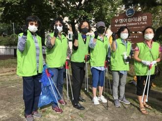 적십자 화정봉사회 [추석맞이 집중 자원봉사주간] 방역 및 환경활동