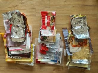 자원봉사로 환경지키기4탄(그냥버리면 쓰레기, 비닐류)