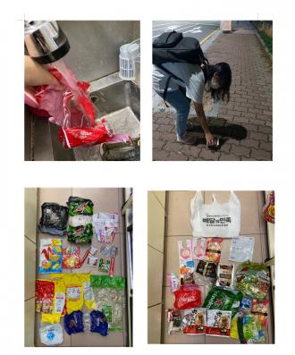자원봉사로 환경지키기 4탄(그냥버리면쓰레기,비닐류) 봉사활동